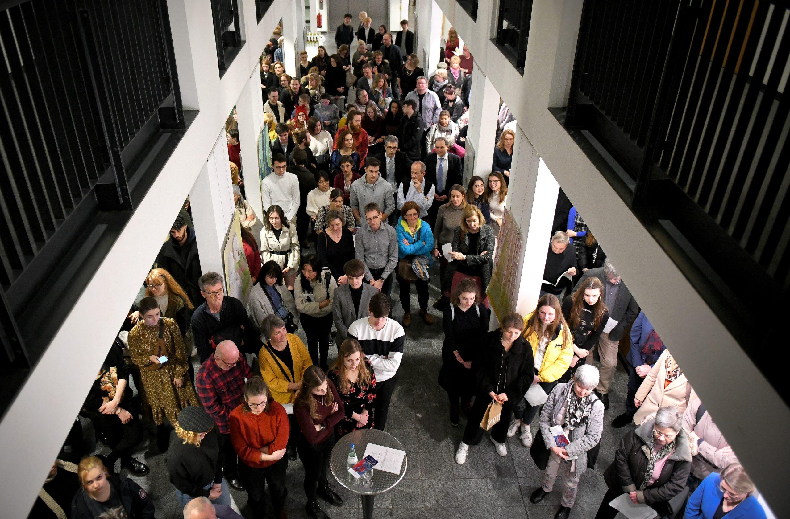 Impressionen der Abschlussausstellung 2020